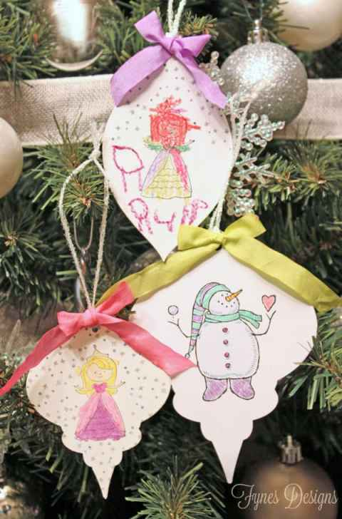 Kids-Christmas-card-ornaments