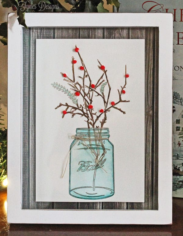 EASY Mason Jar Watercolour painting tutorial