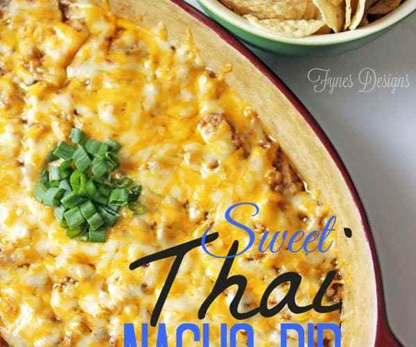 Delicious Sweet Thai dip in a few EASY steps from fynesdesigns.com
