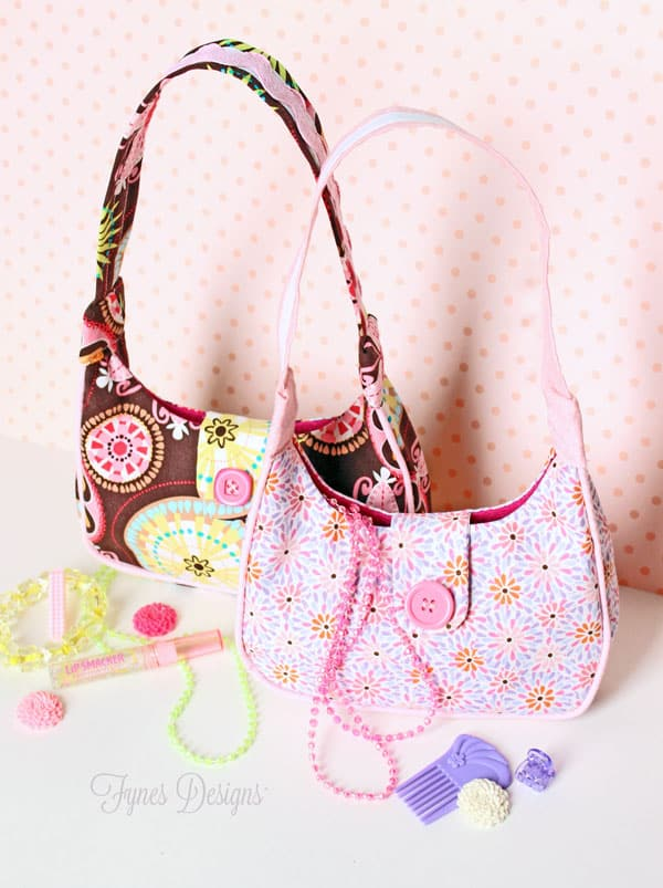 Free Sewing Pattern- Girl's Purse