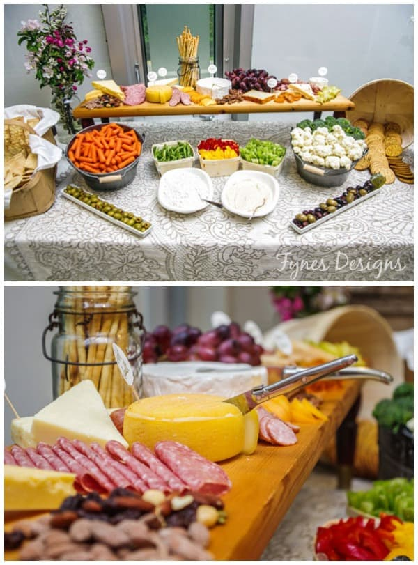 Easy DIY cheese board from fynesdesigns.com