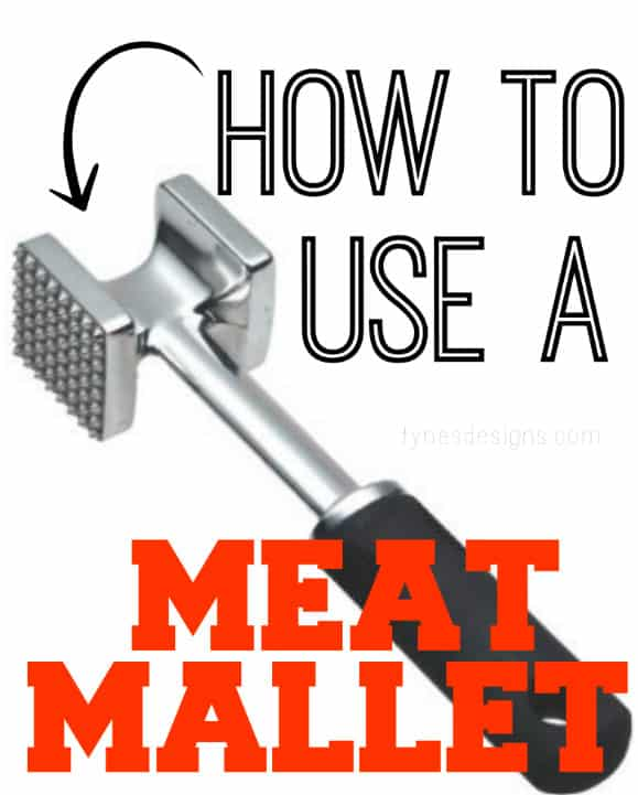 How To Use a Meat Mallet