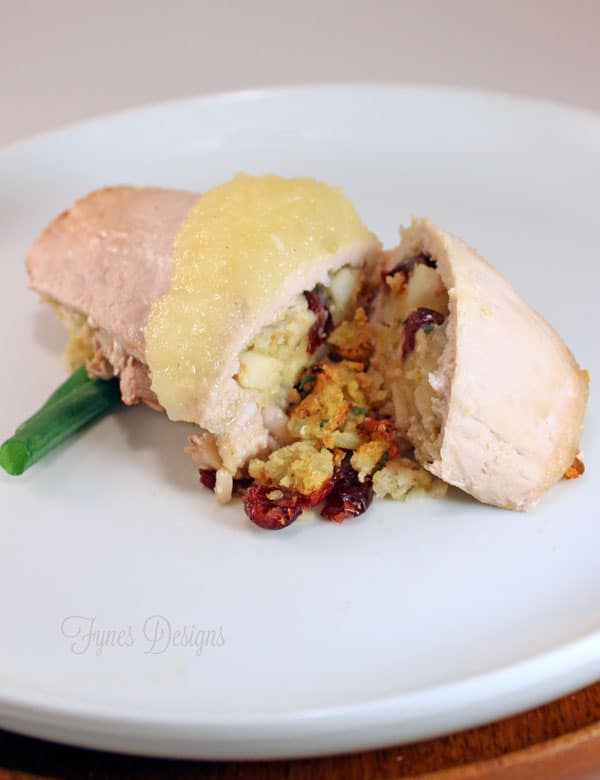 Easy Stuffed Pork Loin