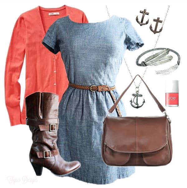 convention style look from Fynes Designs. Enter to WIN the nautical inspired jewellery