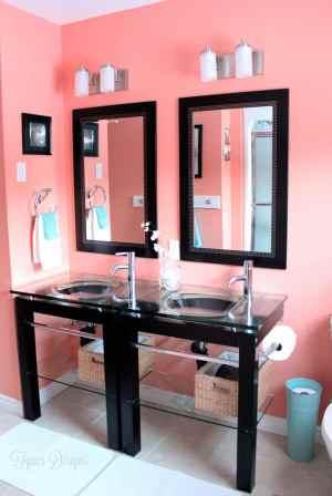 Cheap bathroom makeover #homedepot #voiceofcolor