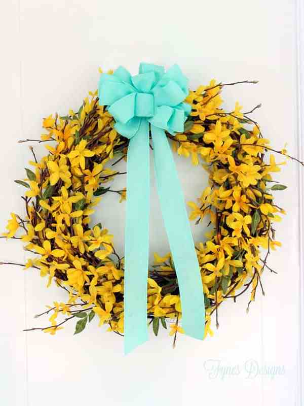 Wooden Hope Easter Wreath Sign