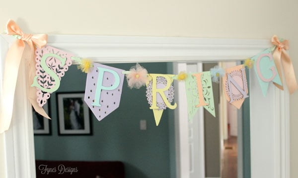 Add a banner to a door frame with a command hook