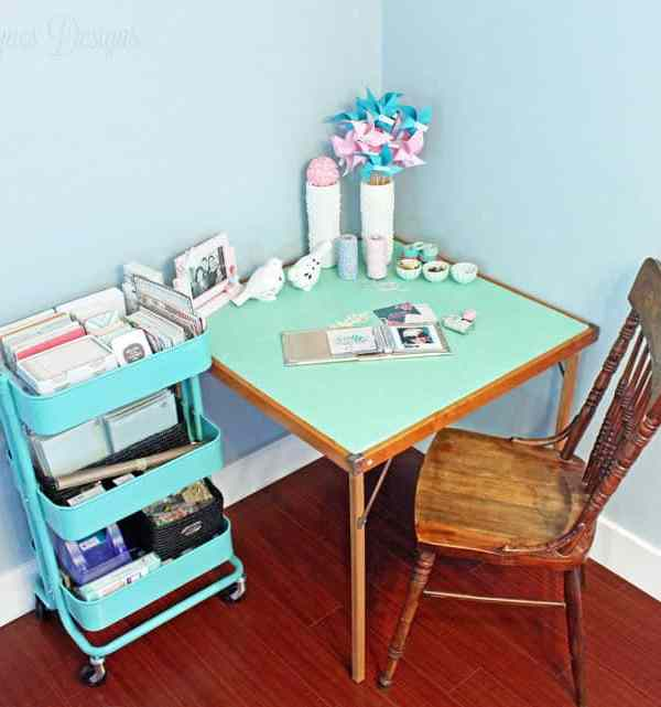 How To Transform a Table with Mod Podge