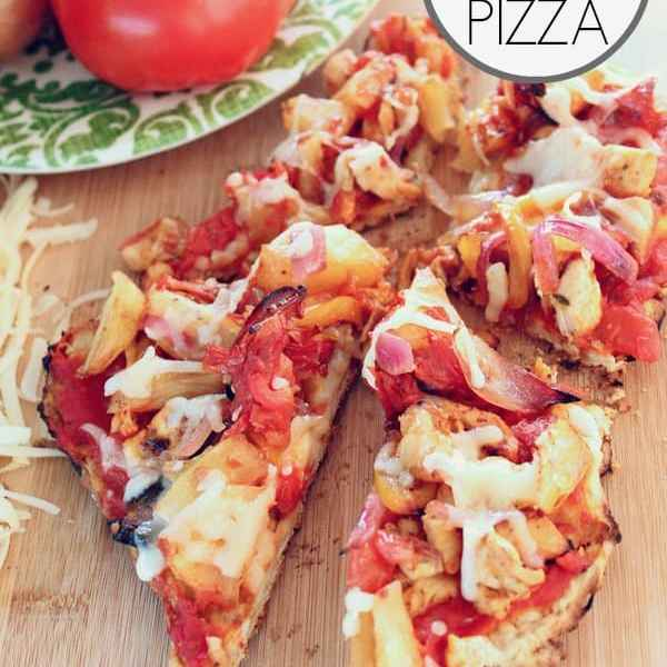 How to make BBQ grilled Pizza