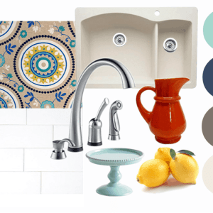 Kitchen Makeover mood board