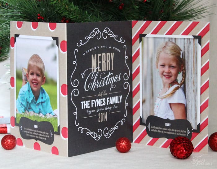 Perfectly Personal Christmas Cards FYNES DESIGNS