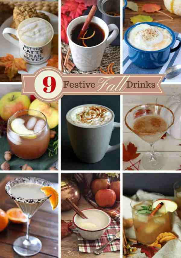 9 Drinks perfect for Fall