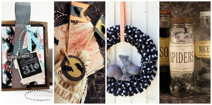 Halloween Ideas from fynesdesigns.com