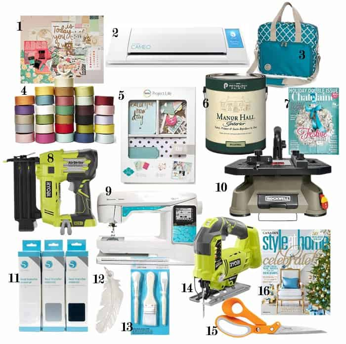 75 Gift ideas for creative women
