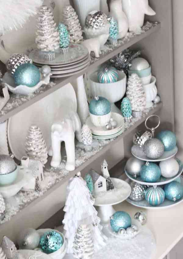Bright and Shiny Christmas Hutch