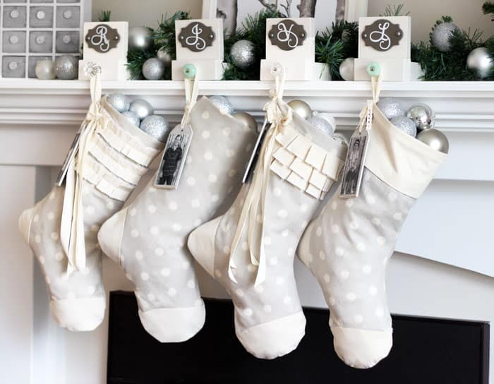 Easy Sew Personalized Christmas Stockings- One Item Challenge ...