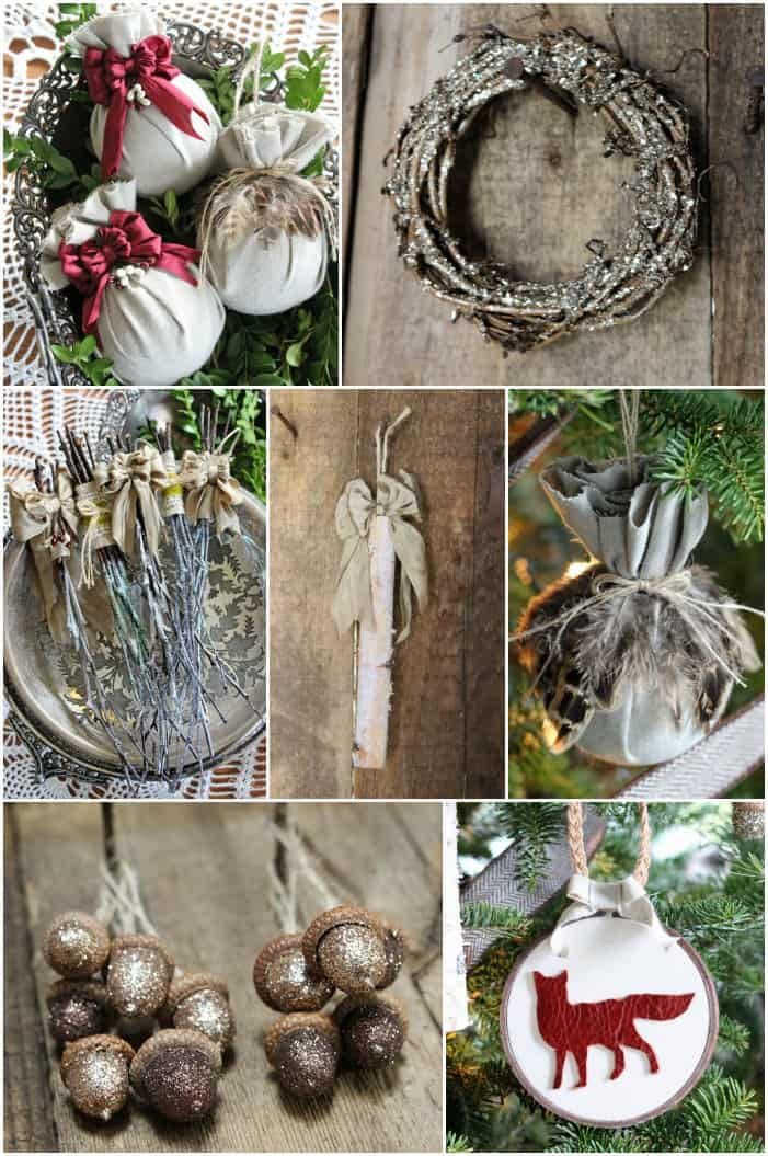 Handmade Rustic Christmas Ornaments