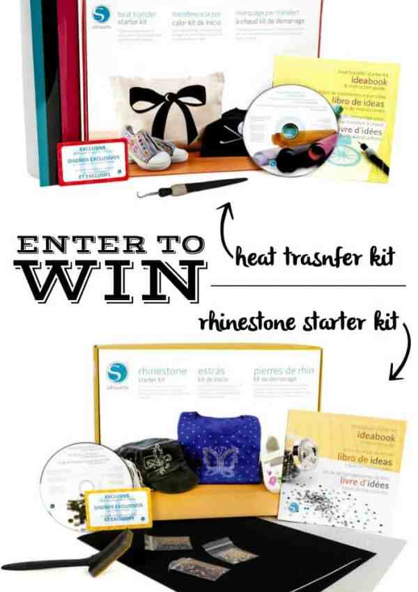 Silhouette Starter Kits Giveaway -Favourite Things