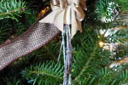 Snowy Twig Christmas Tree ornaments