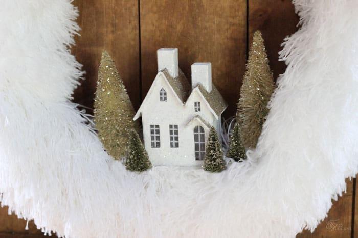 glitter village house