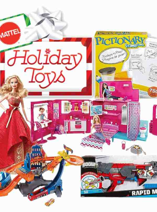 Easy Buy Gift Guide- Mattel Holiday Toys