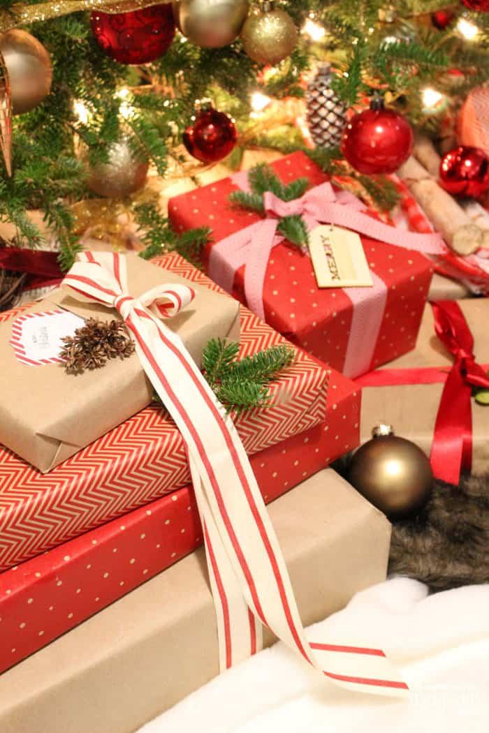 May Arts Ribbon gift wrapping ideas & Christmas Gift Wrapping Ideas with Ribbon - FYNES DESIGNS | FYNES ...