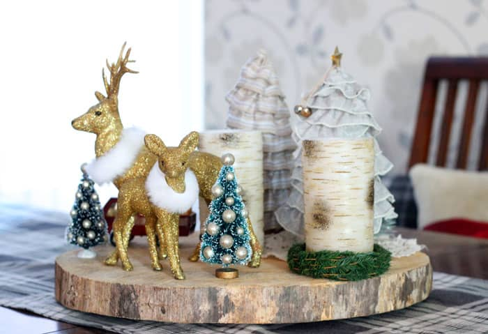 Christmas centrepiece- Fynes Designs Christmas Home Tour