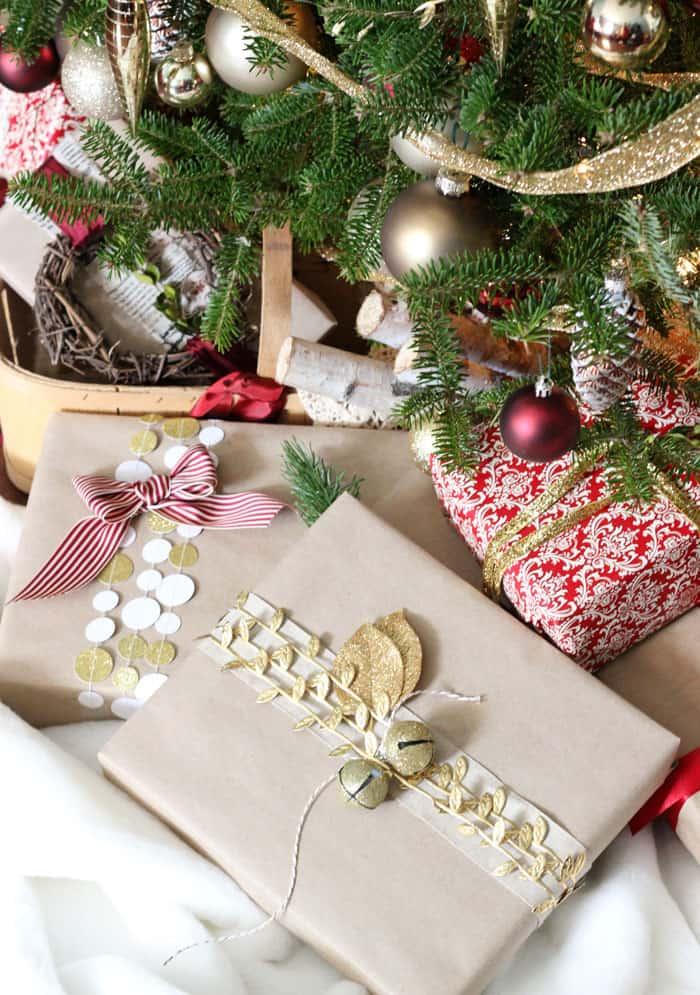 May Arts Ribbon gift wrapping ideas