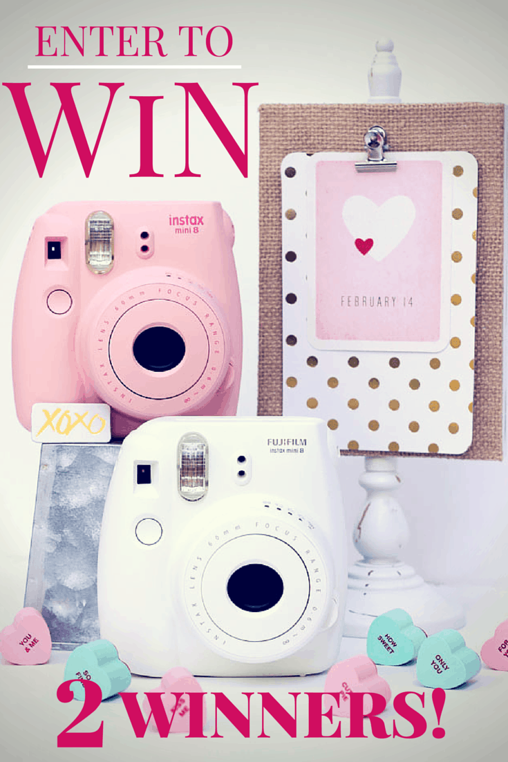 WIN a FUN Instax Camera #FyneslovesFuji