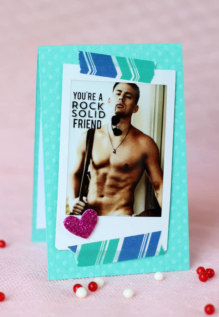 Channing Tatum Valentine's Day Card