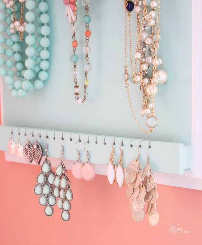 How to make a jewelry organizer very easy!