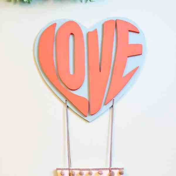 Sweet Love Hot Air Balloon