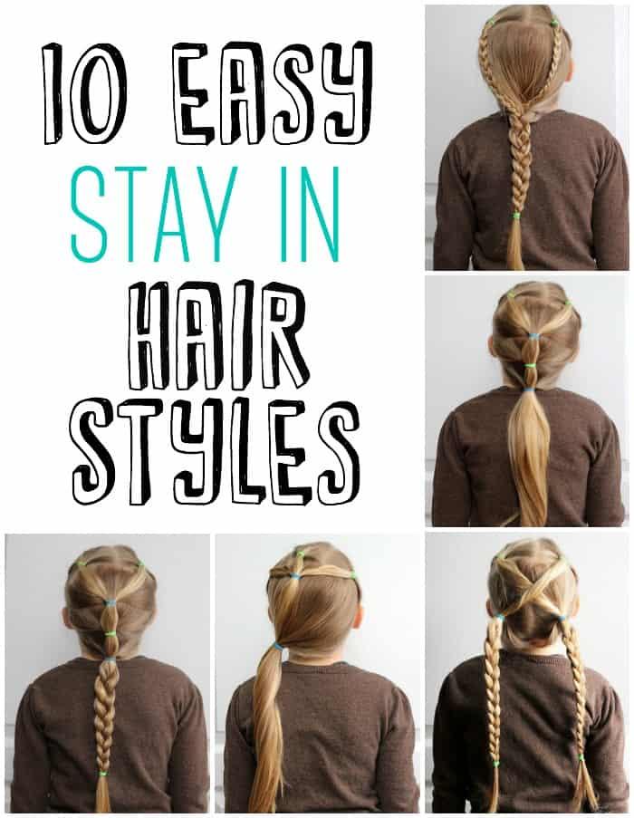 5 Minute School Day Hair Styles - FYNES DESIGNS | FYNES DESIGNS