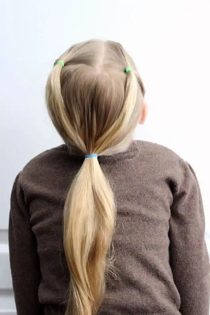 Easy Hairdos for Girls- perfect 5 minute dos for school days