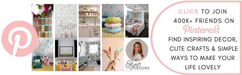 Follow Fynes Designs on Pinterest