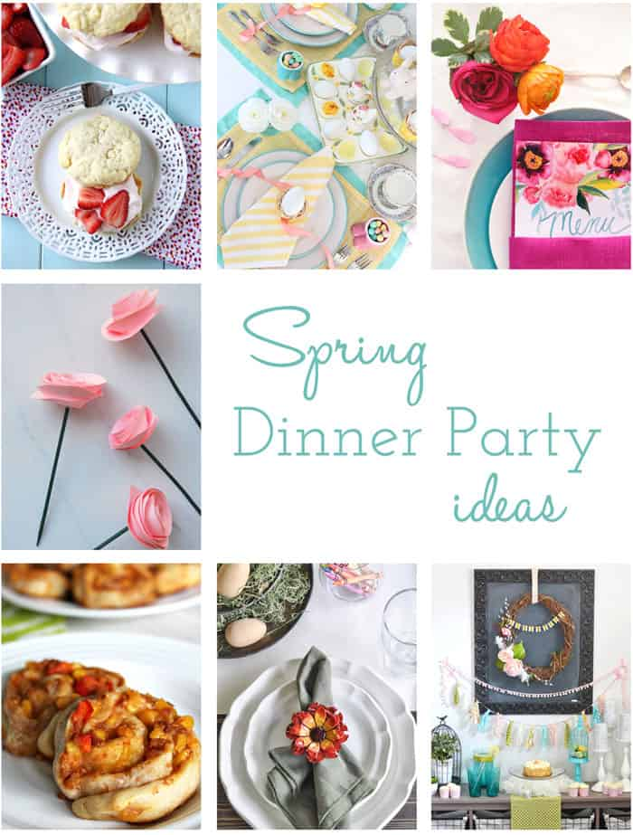 Beautiful ideas for hosting a Spring Brunch