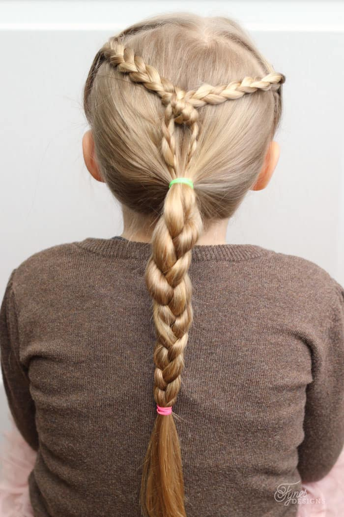 5 Minute Hairstyles for School featured by top US life and style blog, Fynes Designs