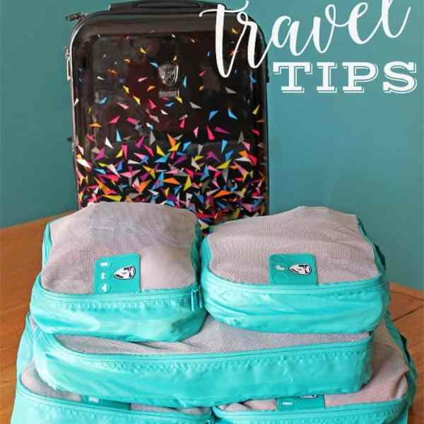 Tips for keeping organized while traveling
