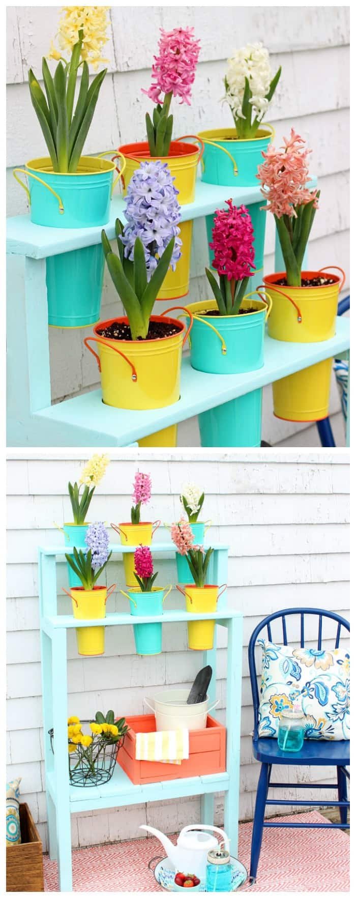 Easy To Build DIY Patio Planter For $10!