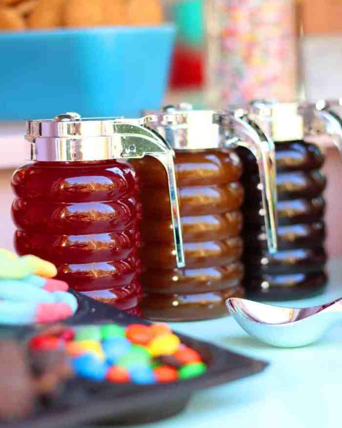 Ice Cream Sundae Birthday party ideas