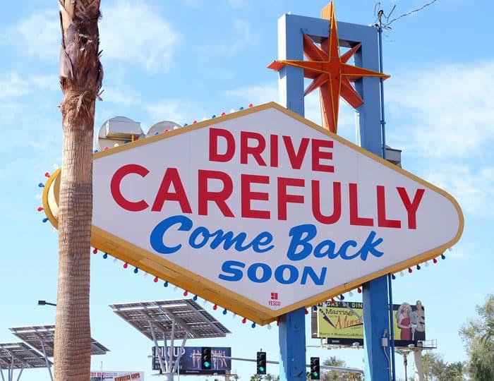 Goodbye Las Vegas