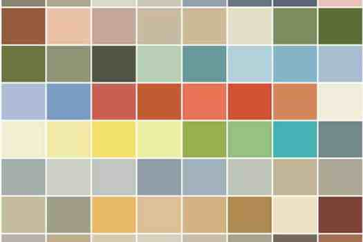 The Nova Scotia Regional color collection from PPG Voice of Color