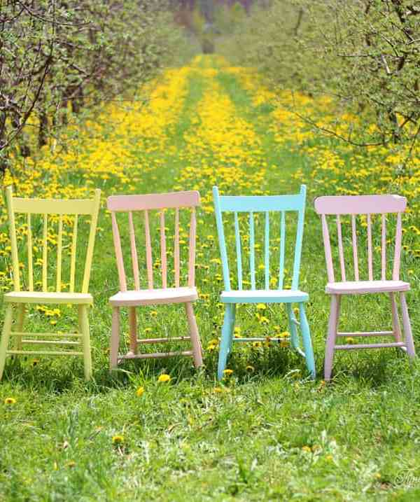 Summer Inspired Painted Furniture