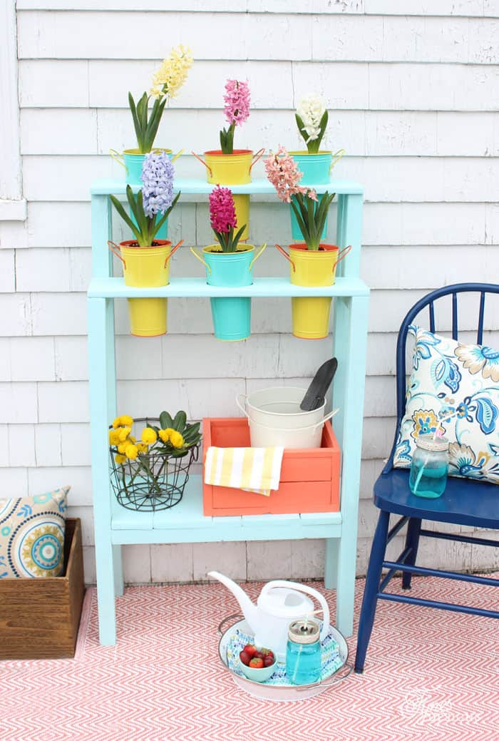 Easy DIY outdoor patio planter