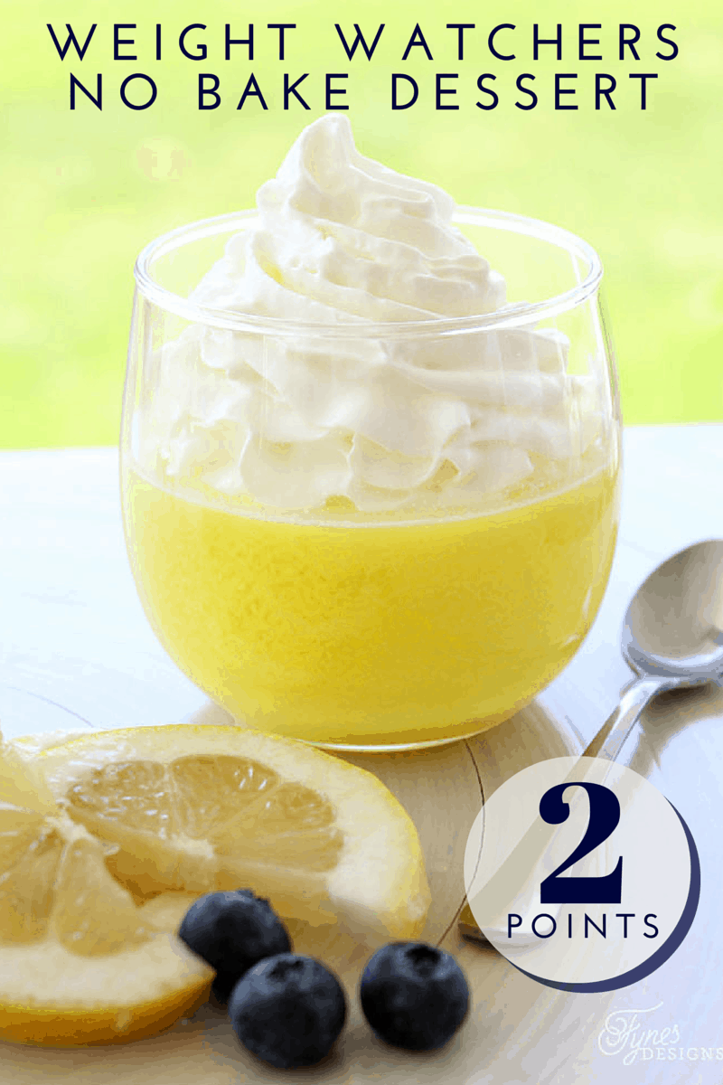 Lemon Weight Watcher Dessert