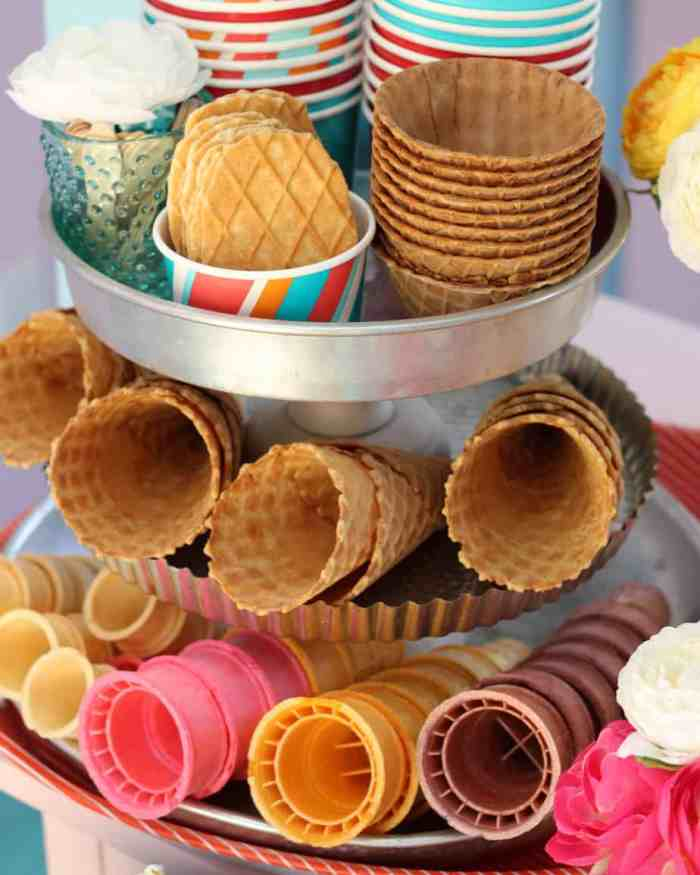Ice Cream Party, fun ideas for a Sundae Shoppe theme party