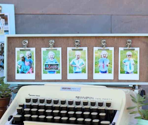 INSTAX Clip Photo Frame DIY