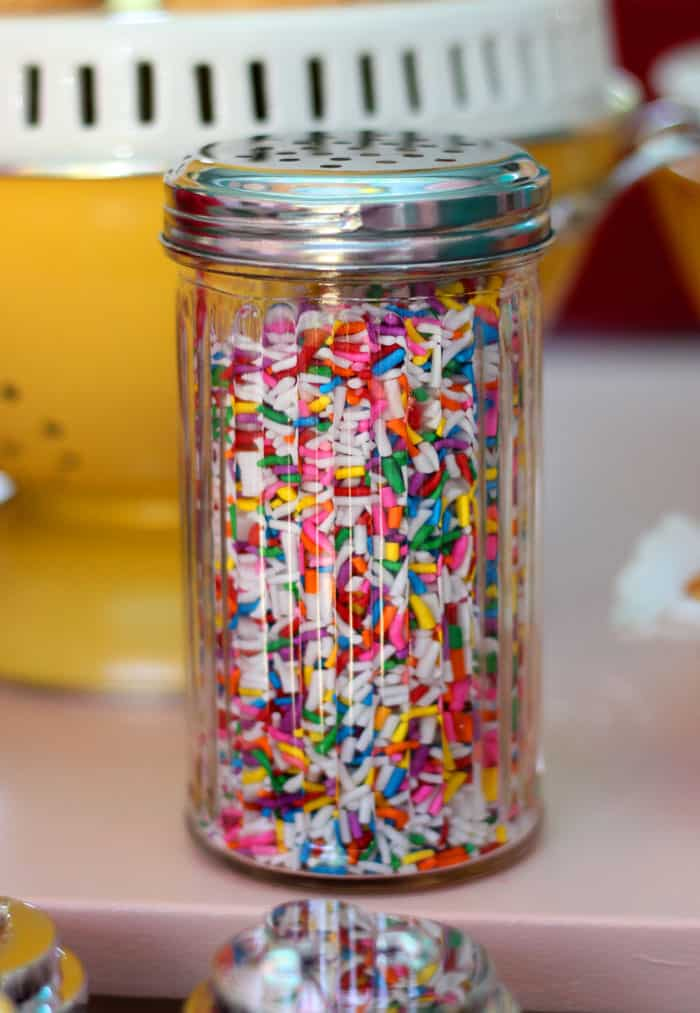 What is a sundae without sprinkles