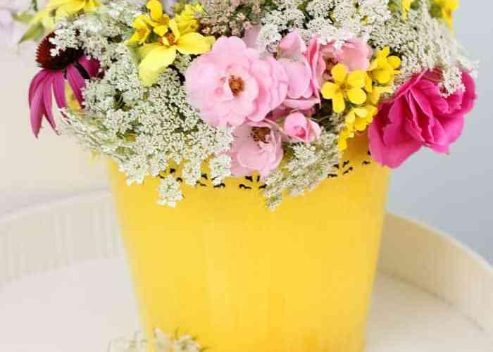 Wild flower bouquet