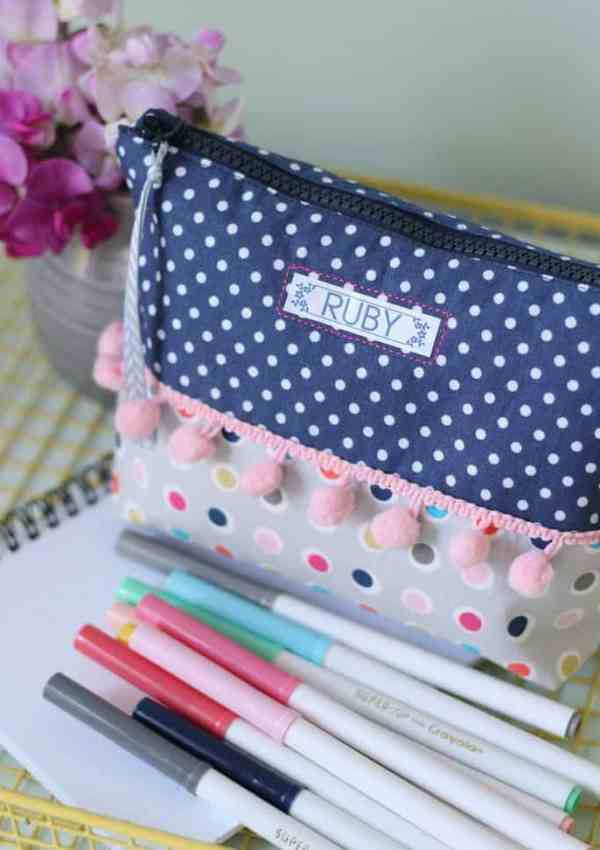 Personalized School Supplies with Brother P-Touch Labeler